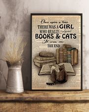 Books And Cats 11x17 Poster lifestyle-poster-3