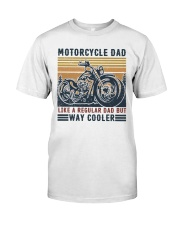 Motorcycle Dad Classic T-Shirt front