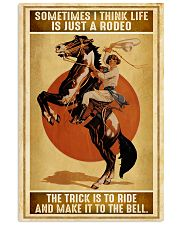 Rodeo Girl Sometimes I Think Life Is Just A Rodeo 11x17 Poster front