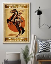 Rodeo Girl Sometimes I Think Life Is Just A Rodeo 11x17 Poster lifestyle-poster-1