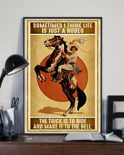 Rodeo Girl Sometimes I Think Life Is Just A Rodeo 11x17 Poster lifestyle-poster-2