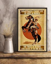 Rodeo Girl Sometimes I Think Life Is Just A Rodeo 11x17 Poster lifestyle-poster-3