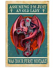 Old Lady Love Red Dragon 11x17 Poster front