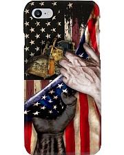 Love Bulldozer United State Flag Phone Case i-phone-8-case