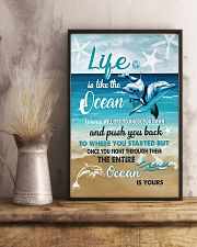 The Ocean Is Yours 11x17 Poster lifestyle-poster-3