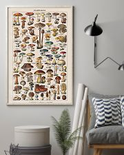 Vintage Mushroom French Chart Champignon 11x17 Poster lifestyle-poster-1