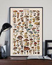 Vintage Mushroom French Chart Champignon 11x17 Poster lifestyle-poster-2