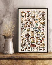 Vintage Mushroom French Chart Champignon 11x17 Poster lifestyle-poster-3