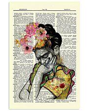 Frida Kahlo 11x17 Poster front