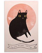 Black Cat Art 11x17 Poster front