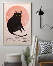 Black Cat Art 11x17 Poster lifestyle-poster-1