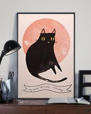 Black Cat Art 11x17 Poster lifestyle-poster-2