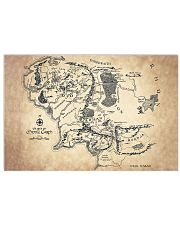 Lord of the Rings Middle Earth Map 17x11 Poster front