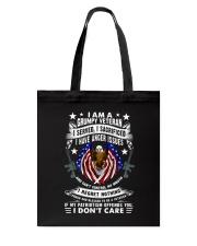 Veteran Grumpy Tote Bag thumbnail