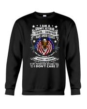 Veteran Grumpy Crewneck Sweatshirt thumbnail
