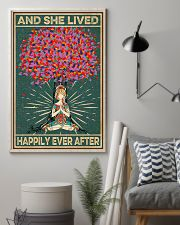 Yoga Meditation And She Lived Happily Ever After 11x17 Poster lifestyle-poster-1