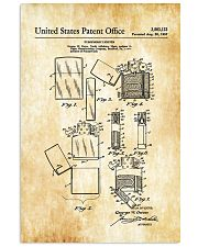 Zippo Patent 11x17 Poster front