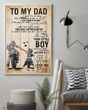 To My Dad Father's Day 11x17 Poster lifestyle-poster-1
