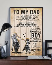 To My Dad Father's Day 11x17 Poster lifestyle-poster-2