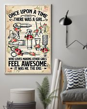 Hairdresser Loves Making Other Girl Feel Awesome 11x17 Poster lifestyle-poster-1