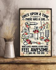 Hairdresser Loves Making Other Girl Feel Awesome 11x17 Poster lifestyle-poster-3