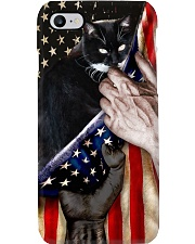 Love Bombay Cat United State Flag Phone Case i-phone-8-case