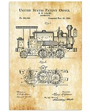 1886 Locomotive Patent 11x17 Poster front