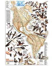 Bird Migration In The Americas 11x17 Poster front