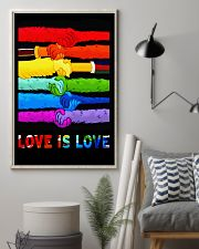 Love is Love 11x17 Poster lifestyle-poster-1