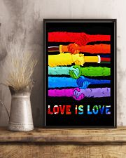 Love is Love 11x17 Poster lifestyle-poster-3