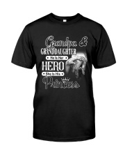 Grandpa And Granddaughter Classic T-Shirt front