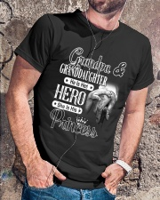 Grandpa And Granddaughter Classic T-Shirt lifestyle-mens-crewneck-front-4