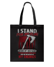 I Stand For My Flag Tote Bag thumbnail