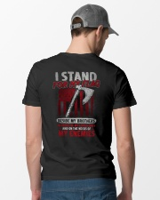 I Stand For My Flag Classic T-Shirt lifestyle-mens-crewneck-back-6