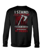 I Stand For My Flag Crewneck Sweatshirt thumbnail