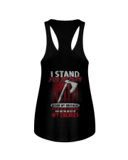 I Stand For My Flag Ladies Flowy Tank thumbnail