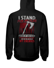 I Stand For My Flag Hooded Sweatshirt thumbnail