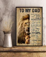 To My Dad 11x17 Poster lifestyle-poster-3
