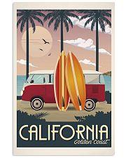 Cartel Vintage California 11x17 Poster front