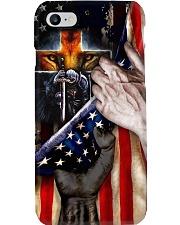 Knight Templar United State Flag Phone Case i-phone-8-case