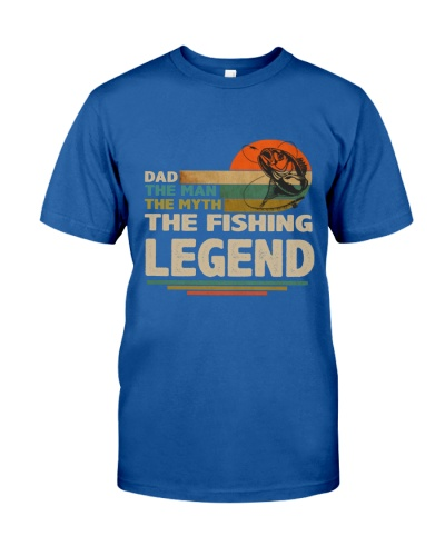 Dad the Fishing Legend