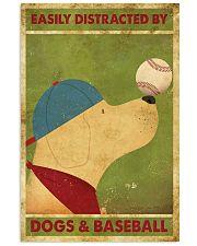 Golden Retriever And Baseball 11x17 Poster front
