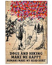 Dogs And Hiking 11x17 Poster front