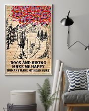 Dogs And Hiking 11x17 Poster lifestyle-poster-1