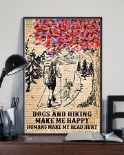 Dogs And Hiking 11x17 Poster lifestyle-poster-2