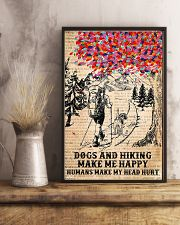 Dogs And Hiking 11x17 Poster lifestyle-poster-3