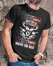 Fishing And Hunting Classic T-Shirt lifestyle-mens-crewneck-front-4