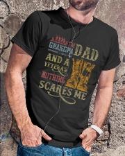 I'm A Dad Grandpa and A Veteran Classic T-Shirt lifestyle-mens-crewneck-front-4