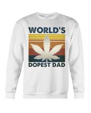 World's Dopest Dad Crewneck Sweatshirt thumbnail