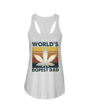 World's Dopest Dad Ladies Flowy Tank thumbnail